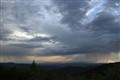Rain over Santa Fe NM