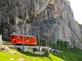 Pilatus cogwheel bahn - the steepest of the world