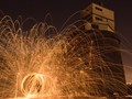 Sparks at the fort