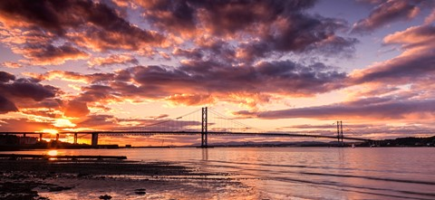 Final Light at the Firth of Forth
