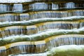 Waterfall fountains at Villandry castel - France
