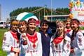 Sabantuy festival at Aksubayevo, Tatarstan, Federation of Russia