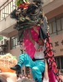 Happy Lion Dancer