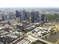 Melbourne CBD from Skydeck 88