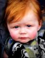 Unhappy Redhead