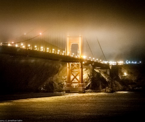 Golden Gate Bridge Night #23 (1 of 1)