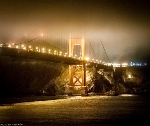 Golden Gate Bridge Night #23 (1 of 1)