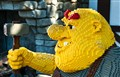 The Yellow Giant in Legoland