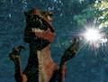 Jurassic sunflare