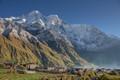 Shayala village, Manaslu Himal, Nepal