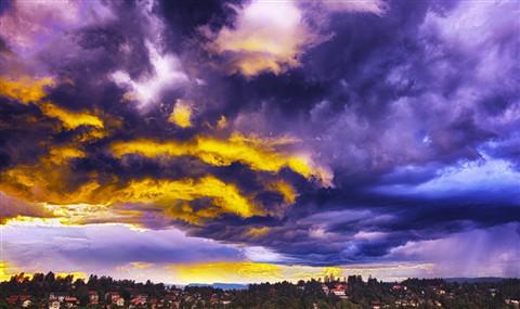 Dramatic-sky-Oslo
