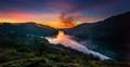 Dawn At Tuyen Lam Lake