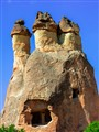 Carvved out Natural Storage place  Cappadocia-Turkey
