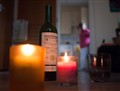 Candles & wine...