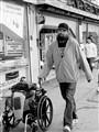 Walking the wheelchair