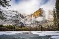 Frozen Yosemite Meadow Lake-7978