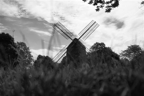 Windmill entry B&W