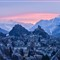 Sion, winter sunrise