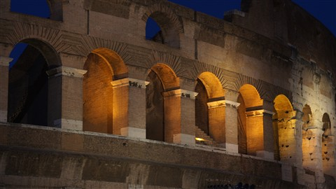 Colosseum - night