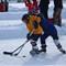 Noah pond hockey