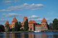 Trakai Island Castle, Lithuania -14th Century A.D.