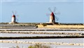 Salt marshes, near Trapani, Sicily