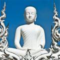 White Temple Buddha