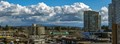 White Rock BC - the threatening skies brought no moisture.