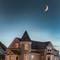 Waxing Victorian Moon