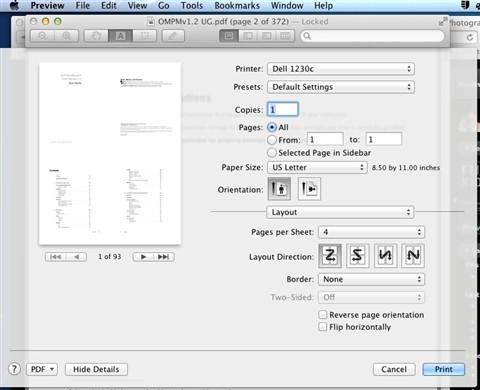 print_layout