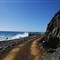 dramatic coastal road near Marea del Portillo