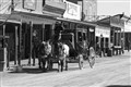 Main Street Late 1800's in the Wild Wild West