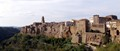 Pitigliano is placed in Tuscany (Italy), it's an ancient Etruscan town built on a tuff spur