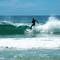 2015-11-8 New Zealand Te Araroa 1687 Pakiri Beach Surfer