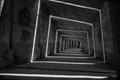 A concrete tunnel resembling a birth channel