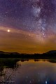 Mars and Milky Way from Perrot State Park