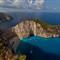 Shipwreck Cove, Zakinthos, Greece