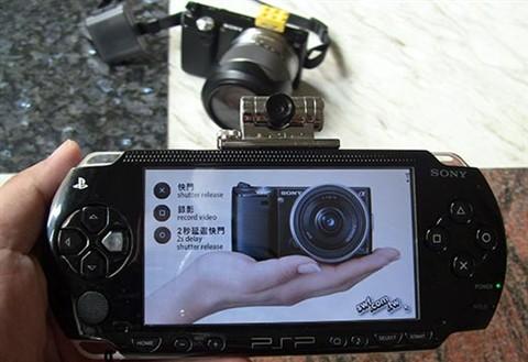 SONY_NEX_Camera_PSP_remote