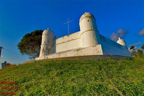 Monte Serrat o forte é a cruz