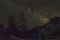Milky Way over Hetch Hetchy