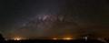 Parks Radio Telescope & the Milky Way