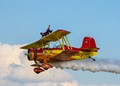 Wing walker a EAA Airshow