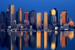 Boston Sunrise Reflections