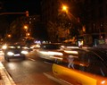 Taxi night in Barcelona