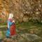 Praying Staue, Slieve Patrick, Saul, County Down, Northern Ireland