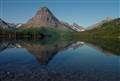 Two Medicine Lake Reflection