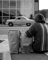 Shot about 1963 on Kodachrome. Location; Ventura Boulevard, Sherman Oaks, California.
