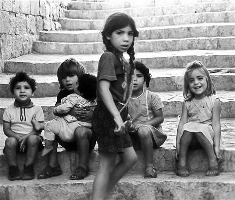 Young girls _ Old City Jerusalem