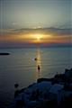 Sun setting... Santorini!