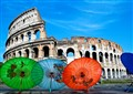 Roman Umbrellas
